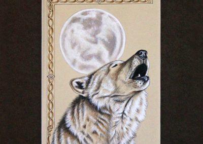 lune et chant du loup